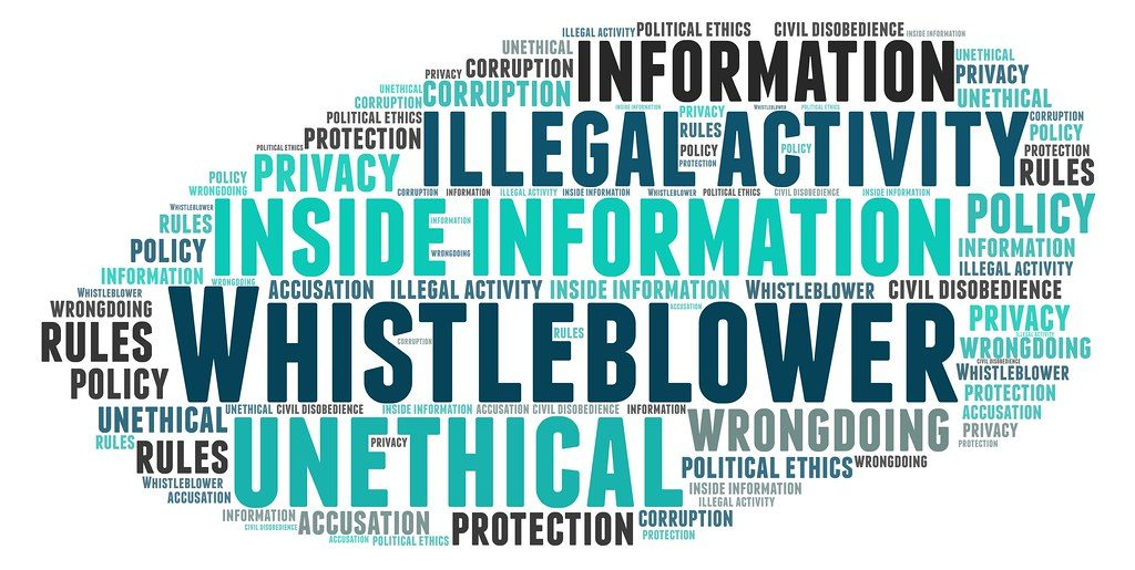 whistleblowing in workplace